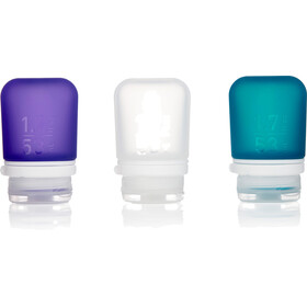 humangear GoToob 53ml pack of 3 purple/turquoise